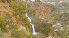 Ouzoud waterfalls, Grand Atlas in Morocco Stock Footage