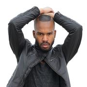 Male fashion model - stock photo