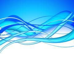 A lot of blue lines Stock Illustration