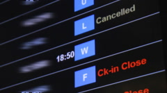 Flight delayed on board Stock Footage