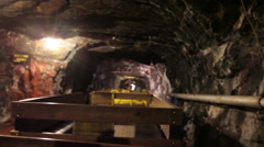 Operator on Coal Mine Stock Footage