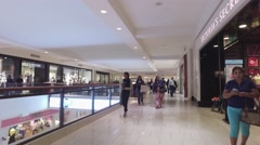 Aventura Mall retail stores. Stock Footage