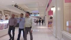 Aventura Mall retail stores Stock Footage