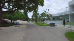 Flamingo Park Miami Beach Stock Footage