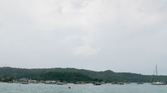 Tonsai Bay, Koh Phi Phi Don Time Lapse Stock Footage