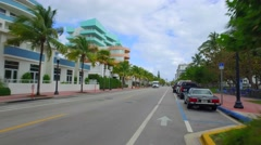 Ocean Place Miami Beach Stock Footage