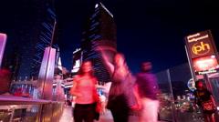 Skywalk to the Cosmopolitan - stock footage