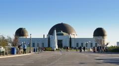 Griffith Observatory Establishing Shot   Stock Footage