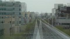 Daegu South Korea Monorail time-lapse ( GoPro) Stock Footage