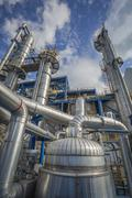 Stock Photo of Oil and Chemical Plant
