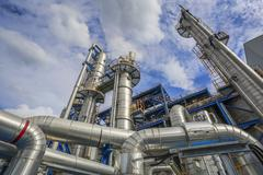 Oil and Chemical Plant - stock photo