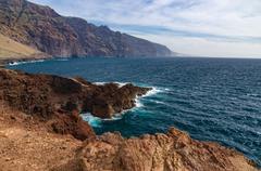Los Gigantes cliffs view, Tenerife Stock Photos
