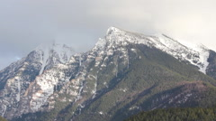 Montana Mission Mountains Stock Footage