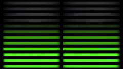 GREEN TUBES Gradient 1 Stock Footage