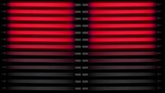NEON Tubes Red2 Stock Footage