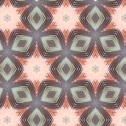 Primitive simple pink, lilac pattern Stock Illustration