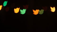 Video About a Social, Twitter, Social Networks - stock footage
