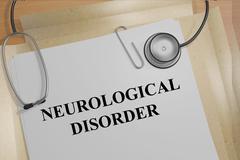 Neurological Disorder concept Stock Illustration