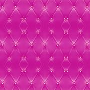 Texture of beautiful pink leather sofa with golden buttons use for background Stock Photos