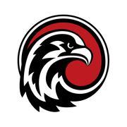 Eagle Logo design vector Stock Illustration