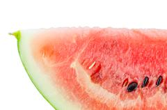 Water melon slice - stock photo