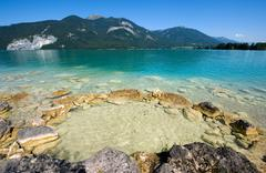 Wolfgangsee in Austria - stock photo