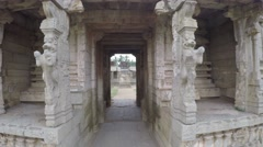 Hampi. Achutaraya Temple. Gopura. Leo. Stock Footage