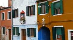 View of Burano, Italy. 4 K - stock footage