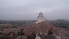 Hampi. Malavanta templ. Stock Footage