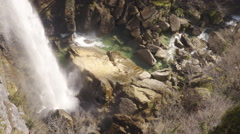 4K Water And Rocks 02 Stock Footage