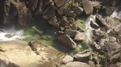 4K Water And Rocks 03 Stock Footage