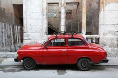 Cuba, Havana, Oldtimer - stock photo
