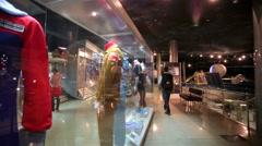 Cosmonaut's clothing presented at the Memorial Museum of Cosmonautics. Stock Footage