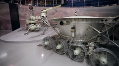 Moonrover Lunokhod Stock Footage