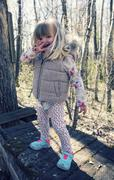 Portrait of 3 Year Old Girl Outdoors, Saskatchewan, Canada Stock Photos