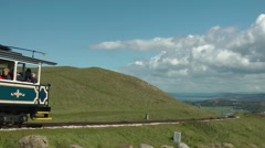 Great Orme Tramway Stock Footage