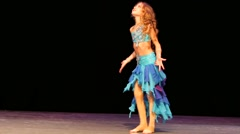 Stock Video Footage of Little girl dance
