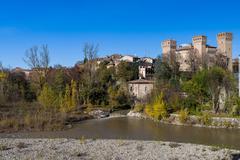 Rocca di Vignola - stock photo