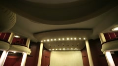 Chamber Hall of the Moscow International House of Music. Stock Footage