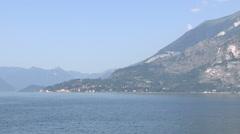 the mountains near lake Como - stock footage