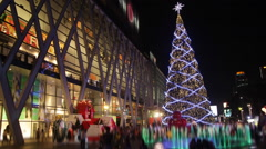 Christmas new year decoration - Time Laspe - stock footage