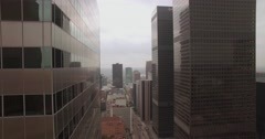 Vertical Downtown Building Combo 1 Stock Footage