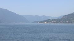 The Lake Como Stock Footage