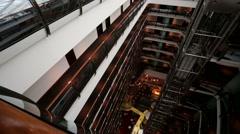 Ararat Park Hyatt Moscow hotel. Stock Footage
