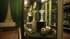 Interior of the Kremlin Armoury Stock Footage