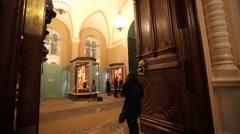 Interior of the Kremlin Armoury. Stock Footage