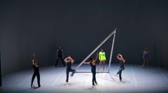 "ballet ""Egopoynt"" - stock footage"