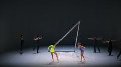 "Ballet ""Egopoynt"" Stock Footage"
