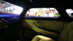 Salon view of Ford Deluxe (release 1951) Stock Footage