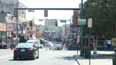 Memphis Beale Street Stock Footage